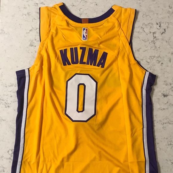official photos 4a8ed b1cff 2018 Kyle Kuzma Los Angeles Lakers Swingman Jersey NWT